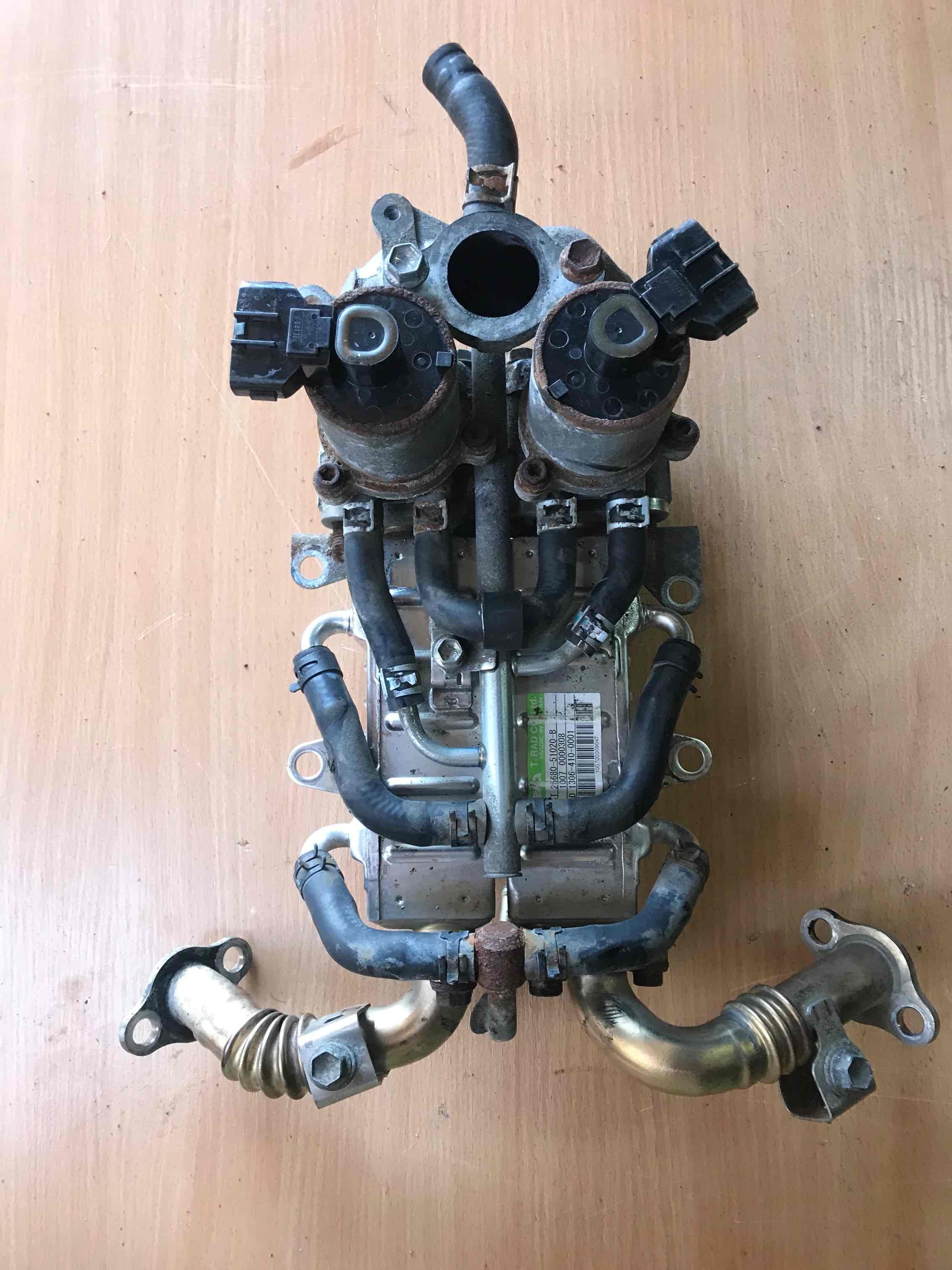 Радиатор EGR Toyota  25680-51020B. 25630-51010.  25620-51010