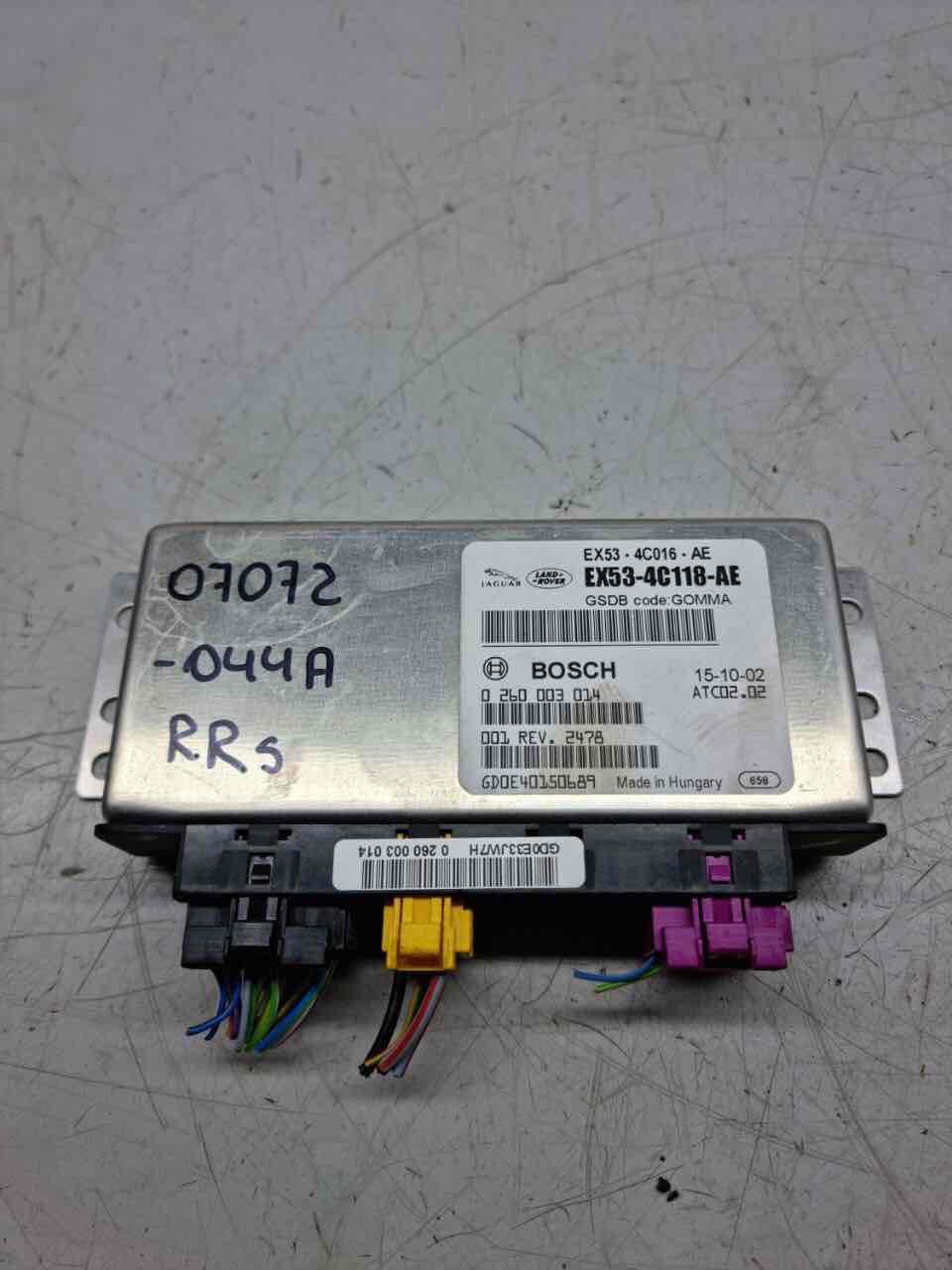 Блок управления раздаткой   EX53-4C118-AE